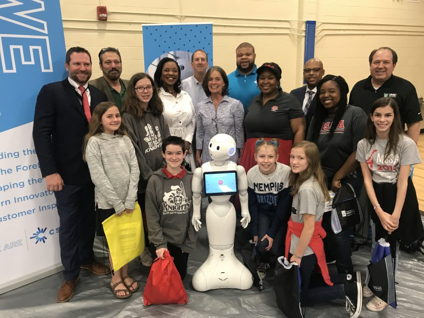 IMC Companies Promotes Science and Technology Careers to Local Students